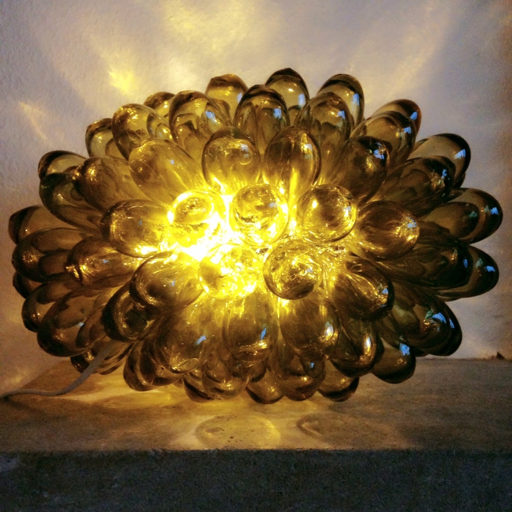 Image of Grape Glass Lamp - Honey