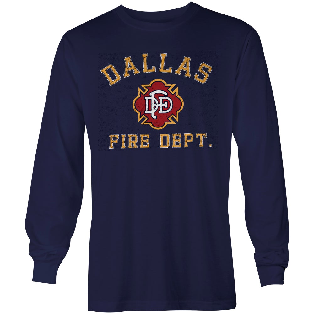 Image of DFD Old School - NAVY L/S 2B123