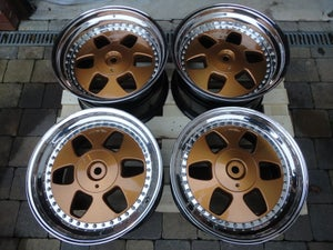 "Image of Genuine OZ MAE Crown Jewels 18"" 5x112 3-Piece Split Rim Alloy Wheels"