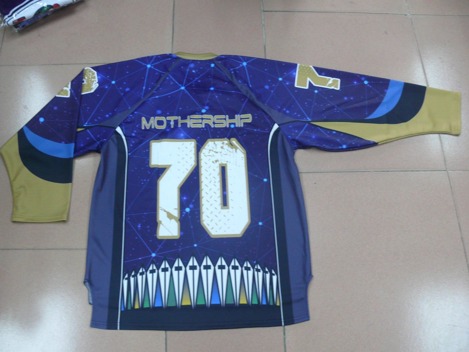 Image of THE MOTHERSHIP limited edition HAMPTON COLISEUM jerseys