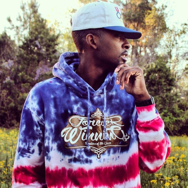 Image of Gold Medal Forever Winning Tie Dye Hoodie ‼️SOLD OUT‼️