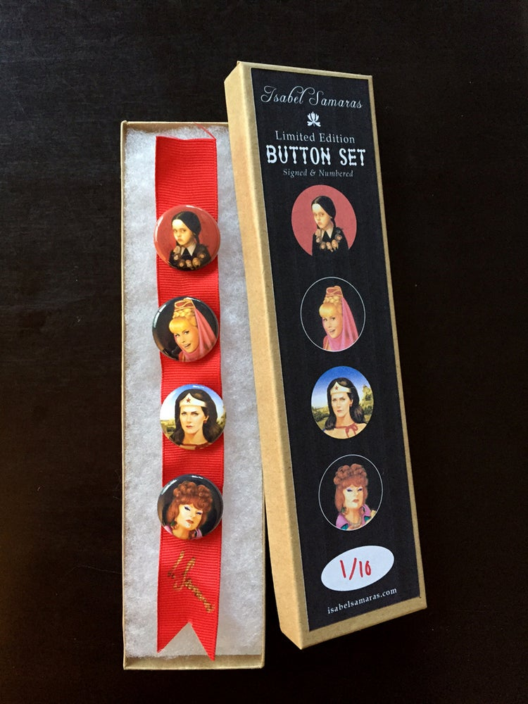 "Image of ""The Ladies"" Limited Edition Button Set"