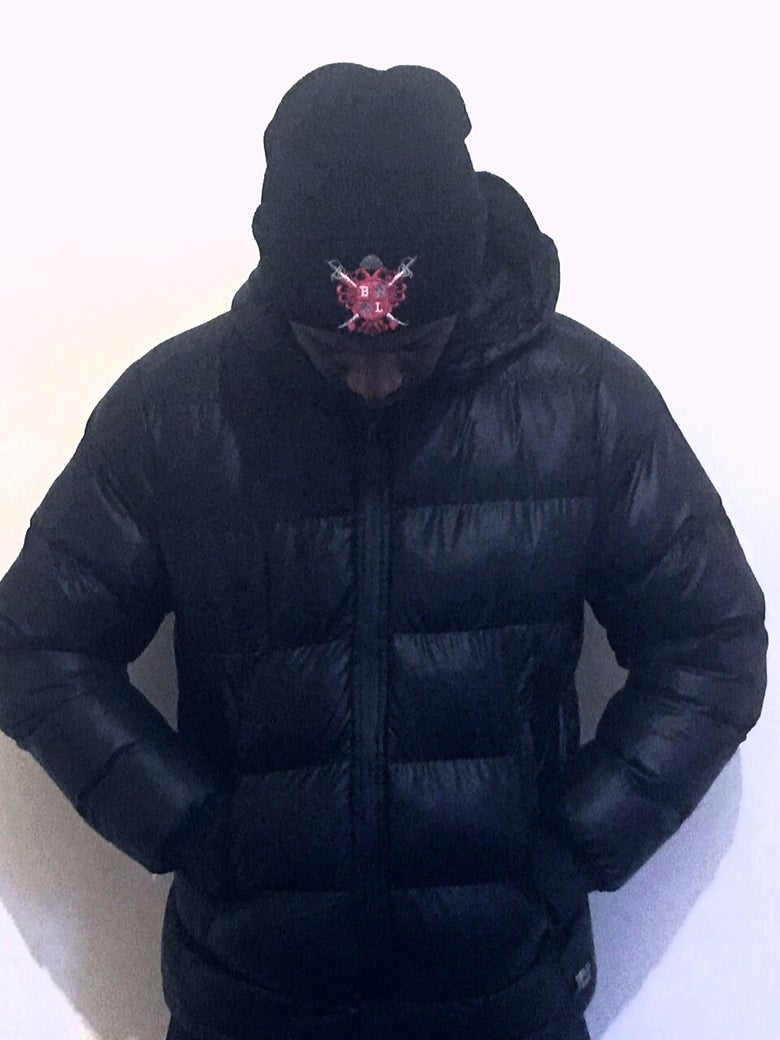 Image of Bloodline Sword & Shield Beanie Hat