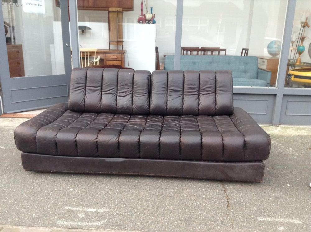 Image of De Sede 1970's Sofa Bed