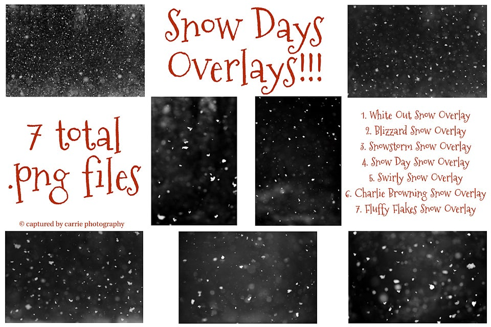 Image of Snow Days Overlays