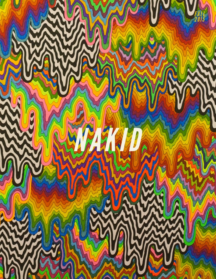 Image of NAKID MAGAZINE:  ISSUE III - FALL 2015 {DIGITAL}