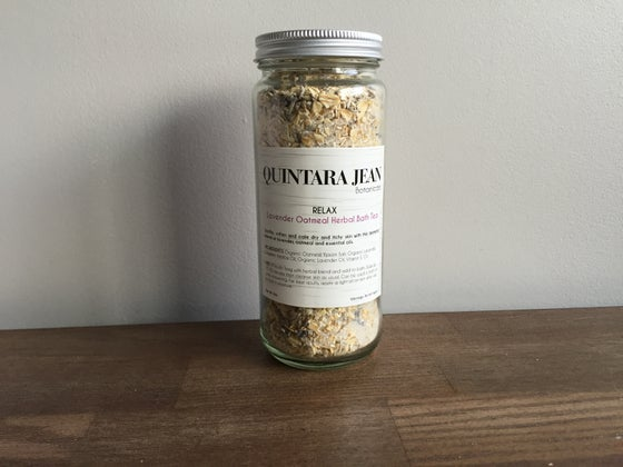 Image of RELAX: Lavender & Oatmeal Herbal Bath Tea