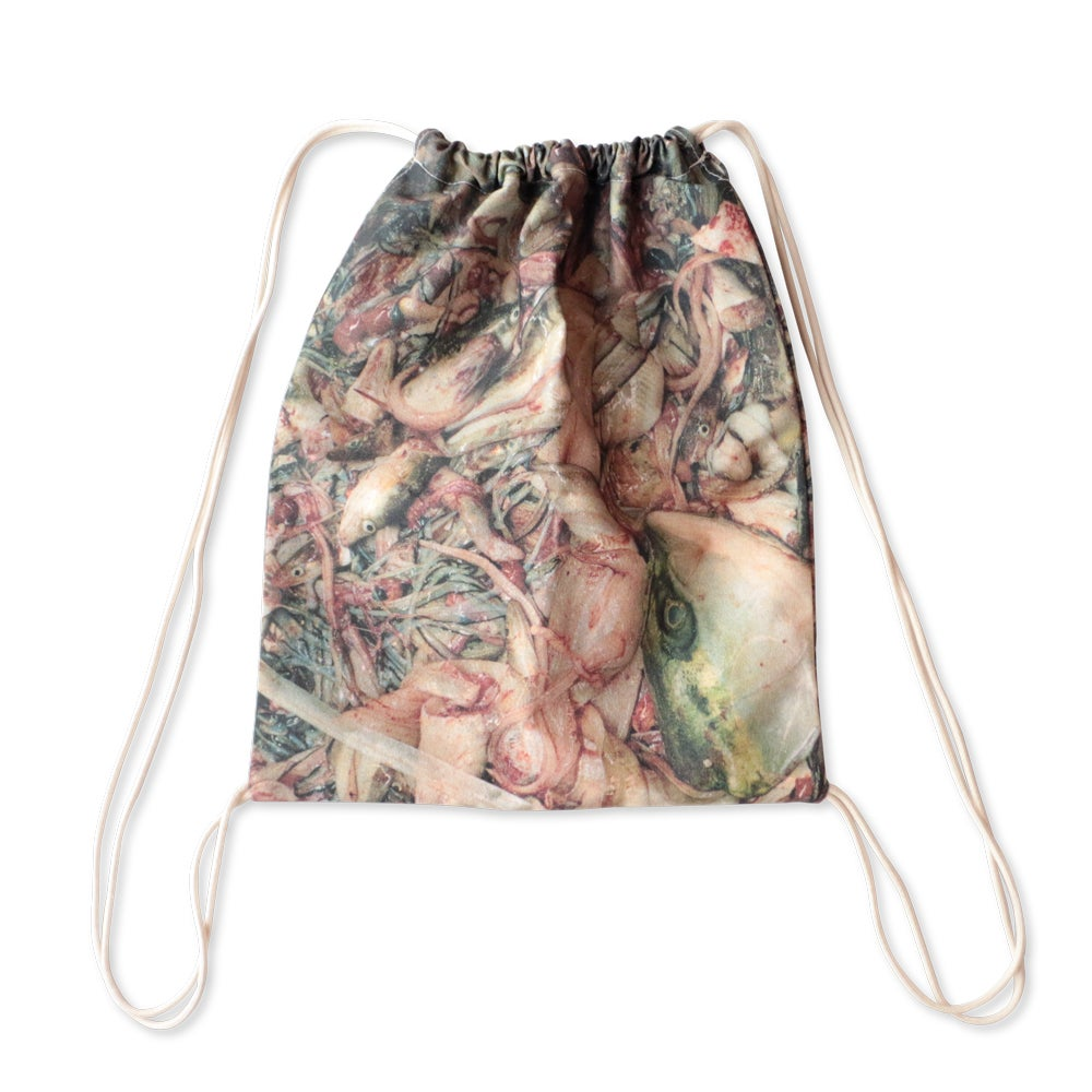 Image of Sannah Kvist photo Gym bag (Fish-Parts)