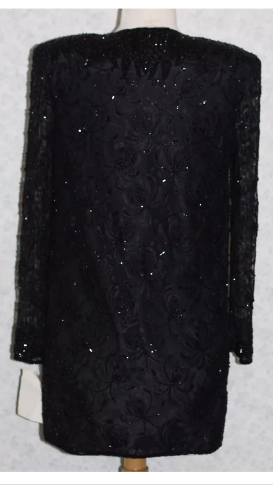 Image of Hand Embriodered Lace Dress