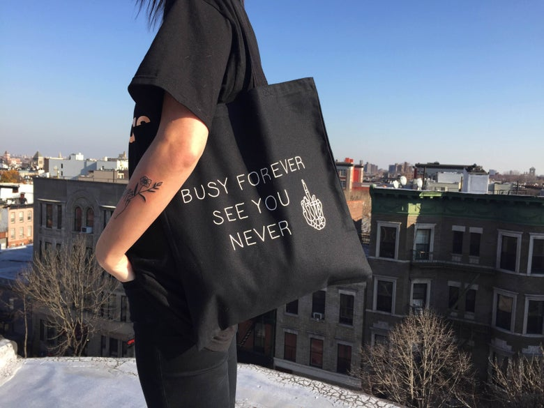 Image of Busy Forever See You Never Tote