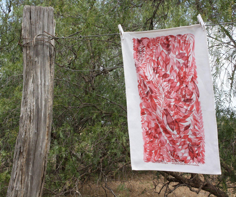 Image of Lucindale Printed Tea Towel