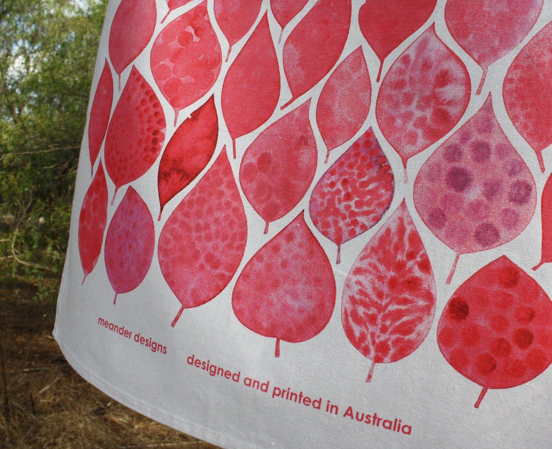 Image of Eucalyptus Leaves Tea Towel