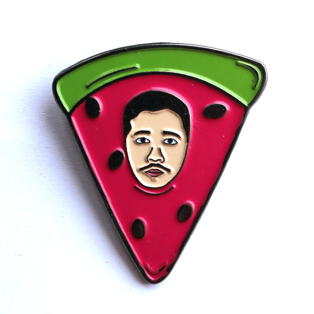 Image of ChiliPhilly Pin Series #2: Watermelon Hat