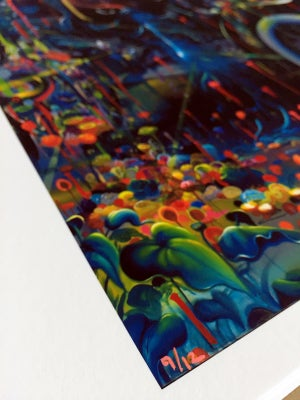Image of Into Passing Hand Embellished Print by Michael Page