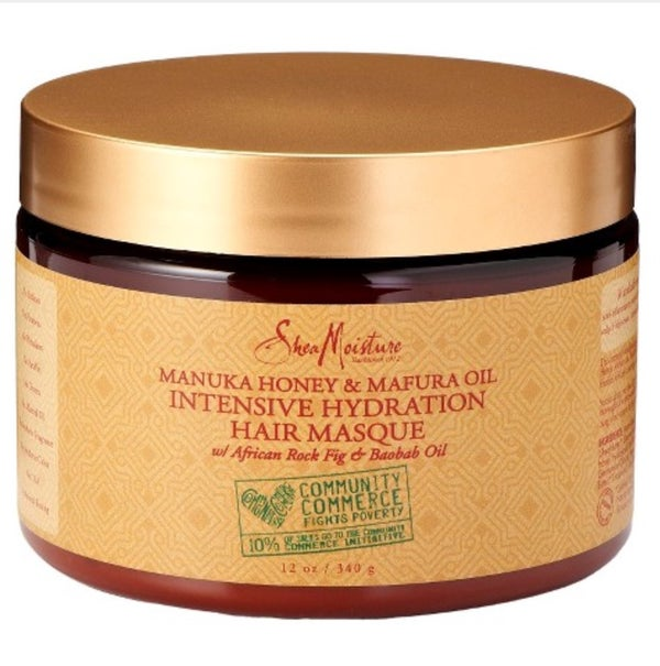 Image of Manukau Honey & Mafura Oil Intensive Hydration Hair Masque