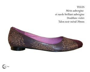 Image of TELES Aubergine - Dark Purple
