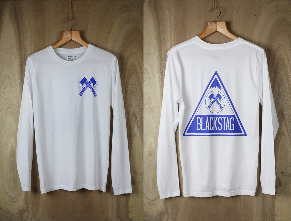 Image of Blue Mountain Long sleeve t shirt