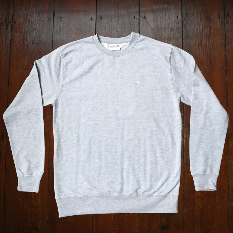 Image of 81 STAFF JUMPER GREY