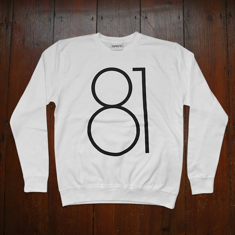 Image of BIG 81 JUMPER WHITE