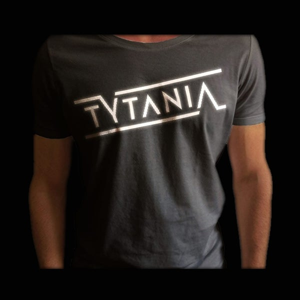 Image of T-Shirt Grey White Logo Unisex