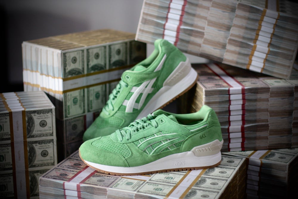 "Image of ASICS gel respecter X CONCEPTS ""MIAMI"""
