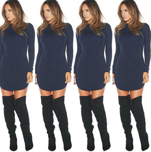 Image of HOT SHOW BODY LONG SLEEVE DRESS