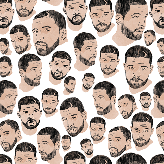 Image of Drake Wrapping Paper