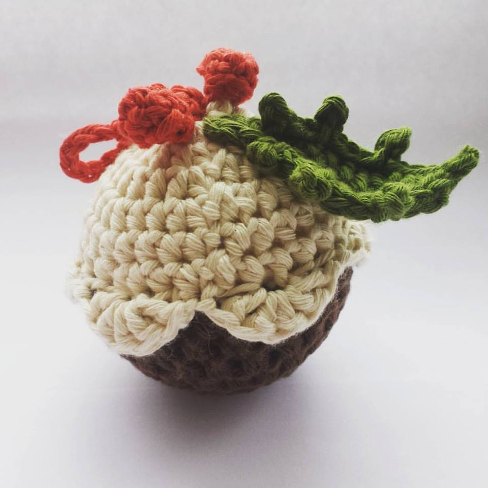 Image of Crochet Pudding Bauble