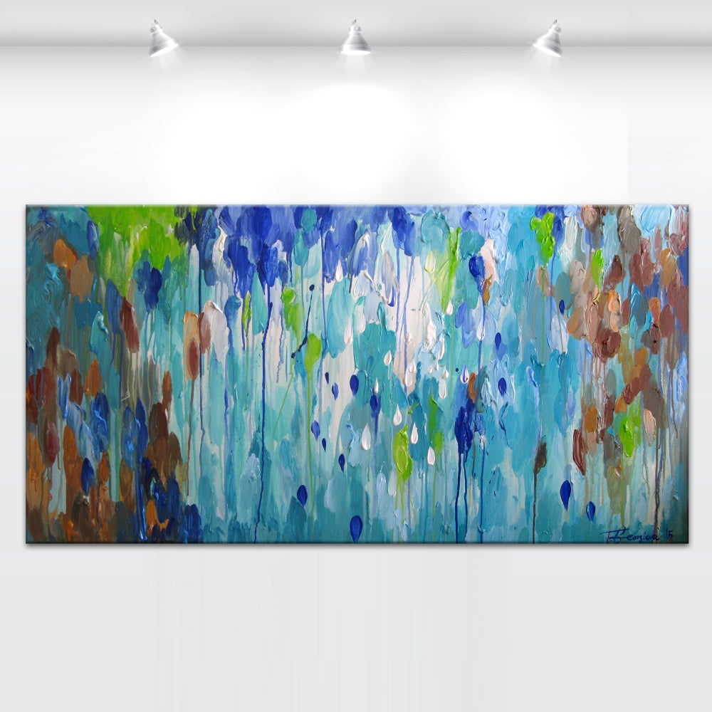 Image of Late tide - 60x120cm