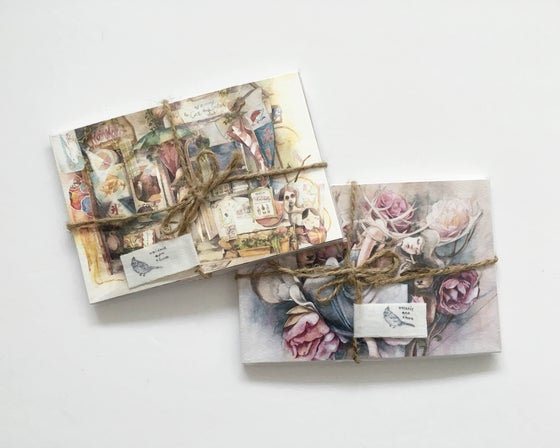 Image of Illustration Collection Postcards