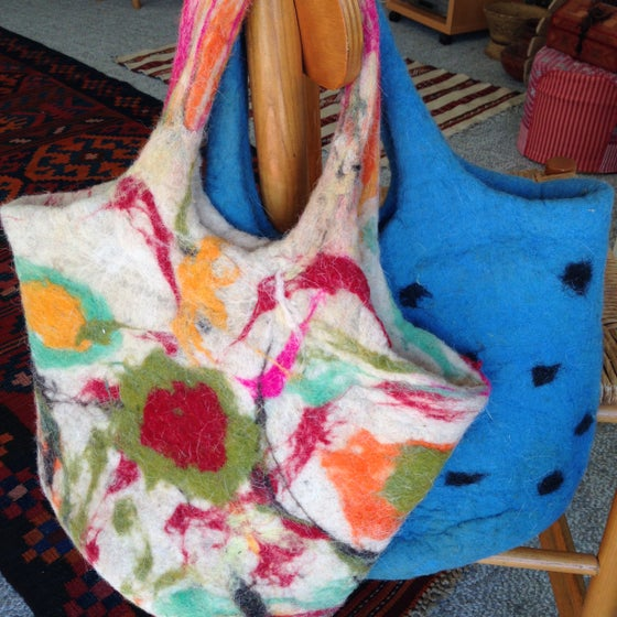 Image of Felted Wool Tote