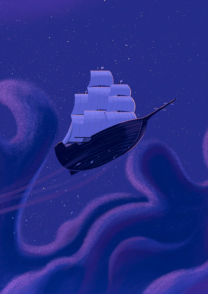 Image of Ship in the Sky