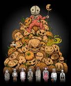 Image of 'King of Halloween: SAM!' print