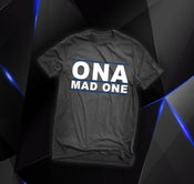 Image of The 'OnaMadOne' Tee (BLUE)