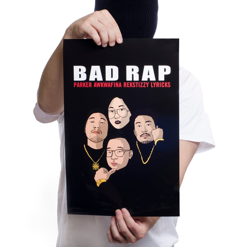 Image of Bad Rap x Sophia Chang Poster