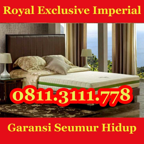 Image of Jual Kasur Busa Royal Exclusive 0811-311-1105