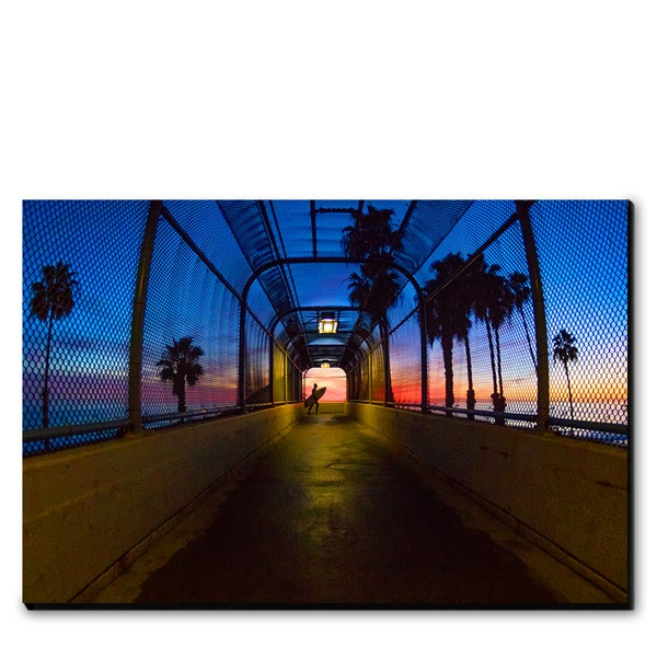 Image of T-STREET NIGHTS - (Metal or Canvas)