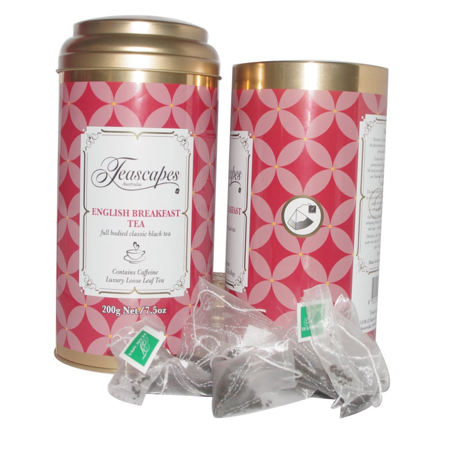 Image of English Breakfast Tea, Opulent Pyramid Tea Bags