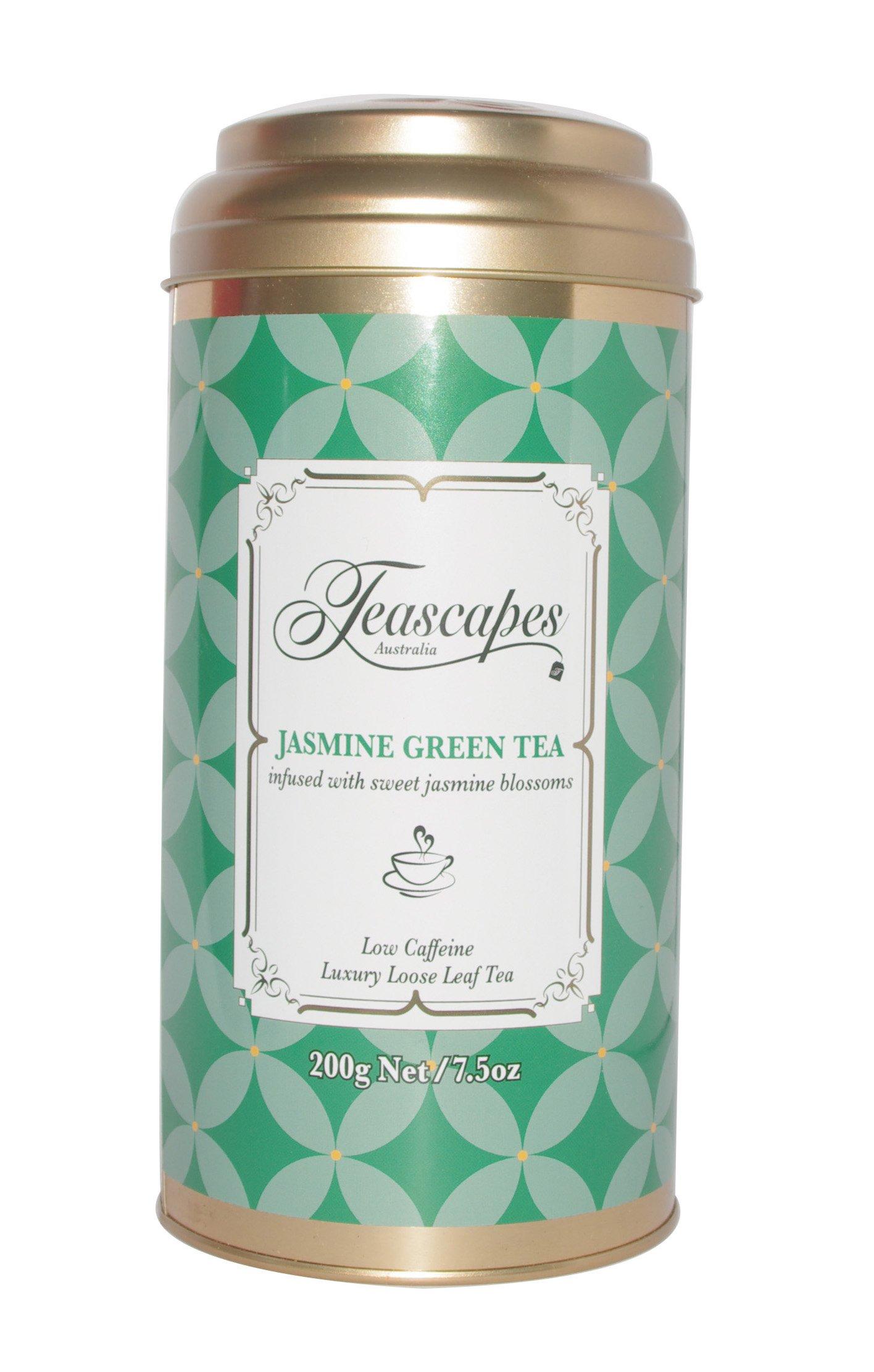 Image of Jasmine Green Tea, Luxury Loose Leaf