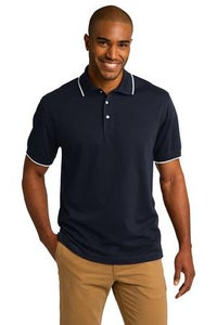 Image of Port Authority Rapid Dry with Tipping Trim Polo (Men)