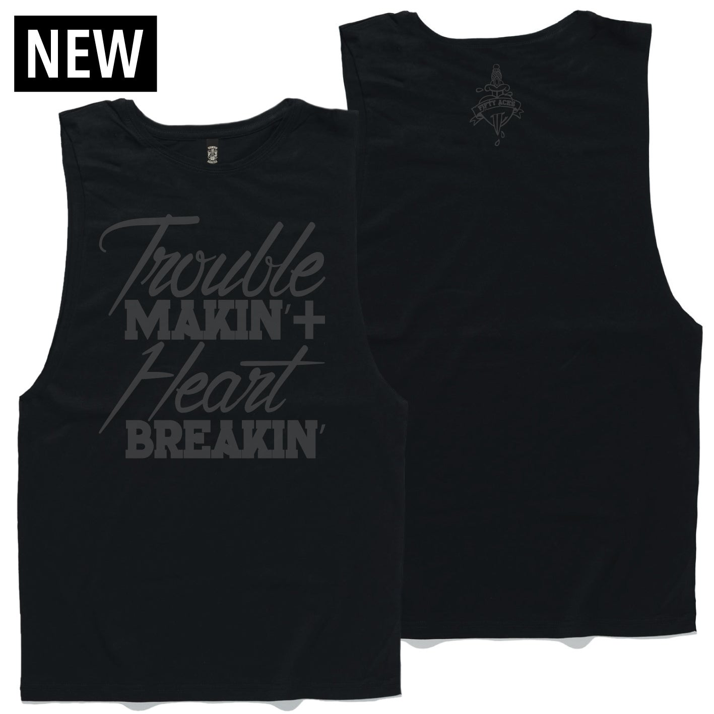 Image of TROUBLE ON MY MIND TANK