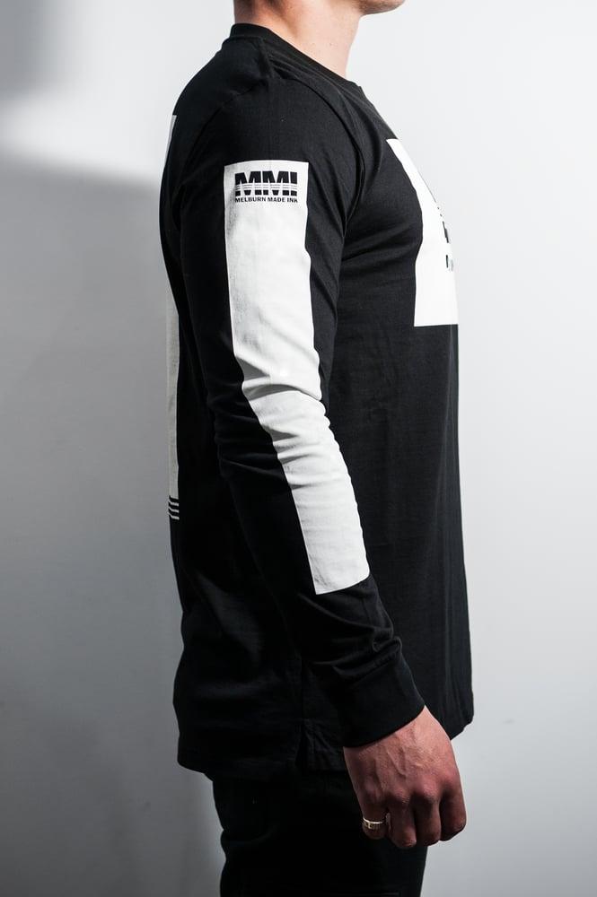 Image of Melburn Made Worldwide Long Sleeve Black