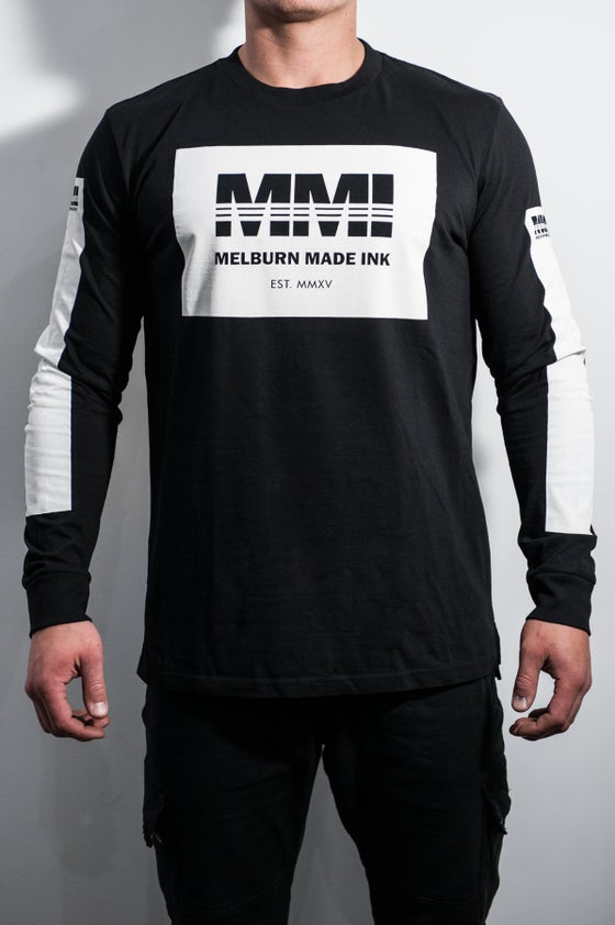 Image of Melburn Made Worldwide Long Sleeve Black