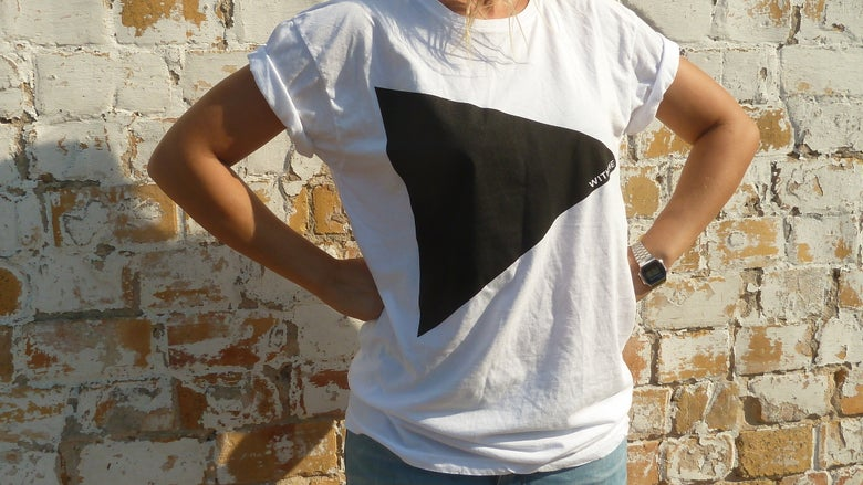 """Image of Shirt, """"play with me"""", unisex, weiß"""