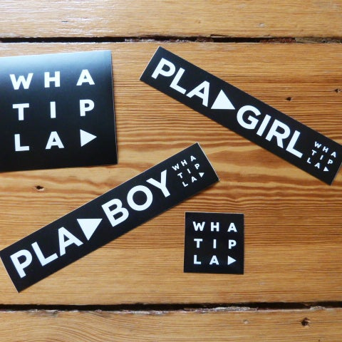 Image of WHATIPLAY Sticker-Set 1