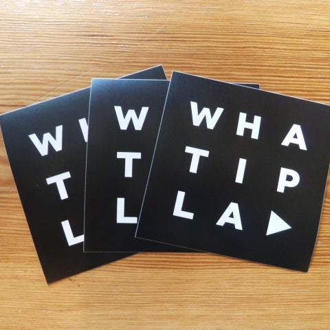 Image of WHATIPLAY Sticker-Set 2