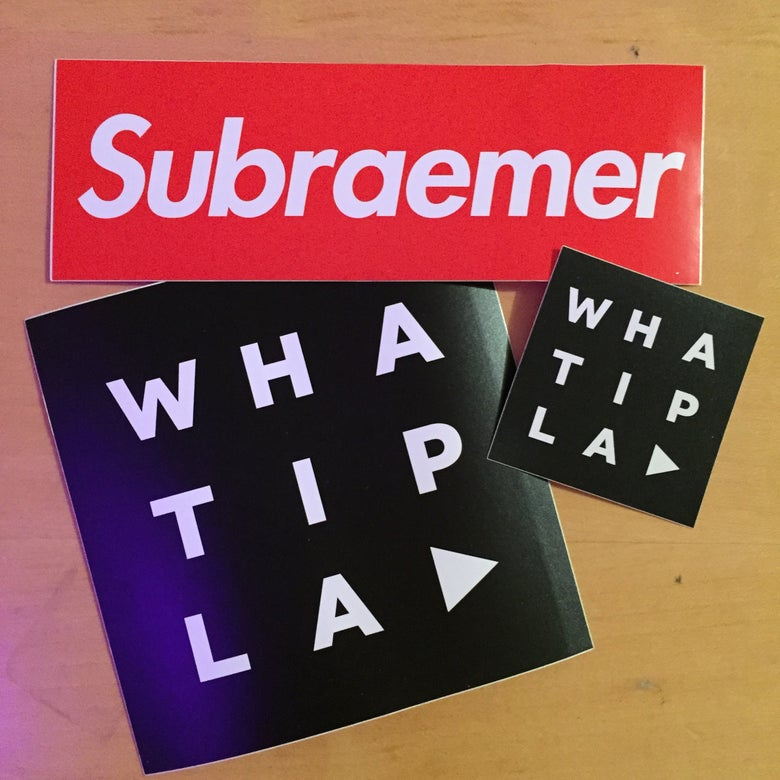 Image of WHATIPLAY Sticker-Set 7