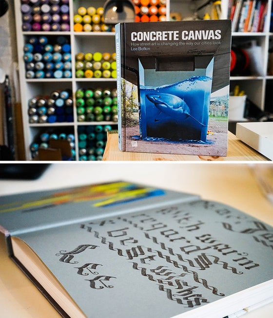 Image of SOLD OUT - Concrete Canvas Book