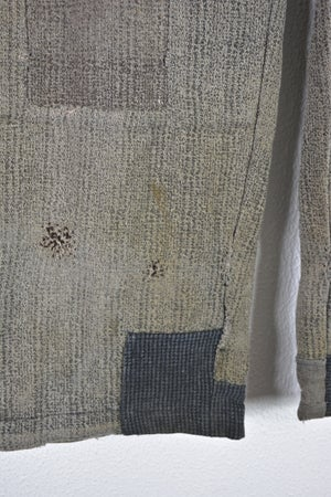 Image of 1910 french PASCAL WOOL PANTS PATCHED