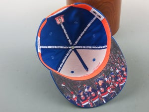 Image of MOMENTS COLLECTION FLAT BRIM SNAPBACK- #2A in a series-yes yes yes! Volume 2
